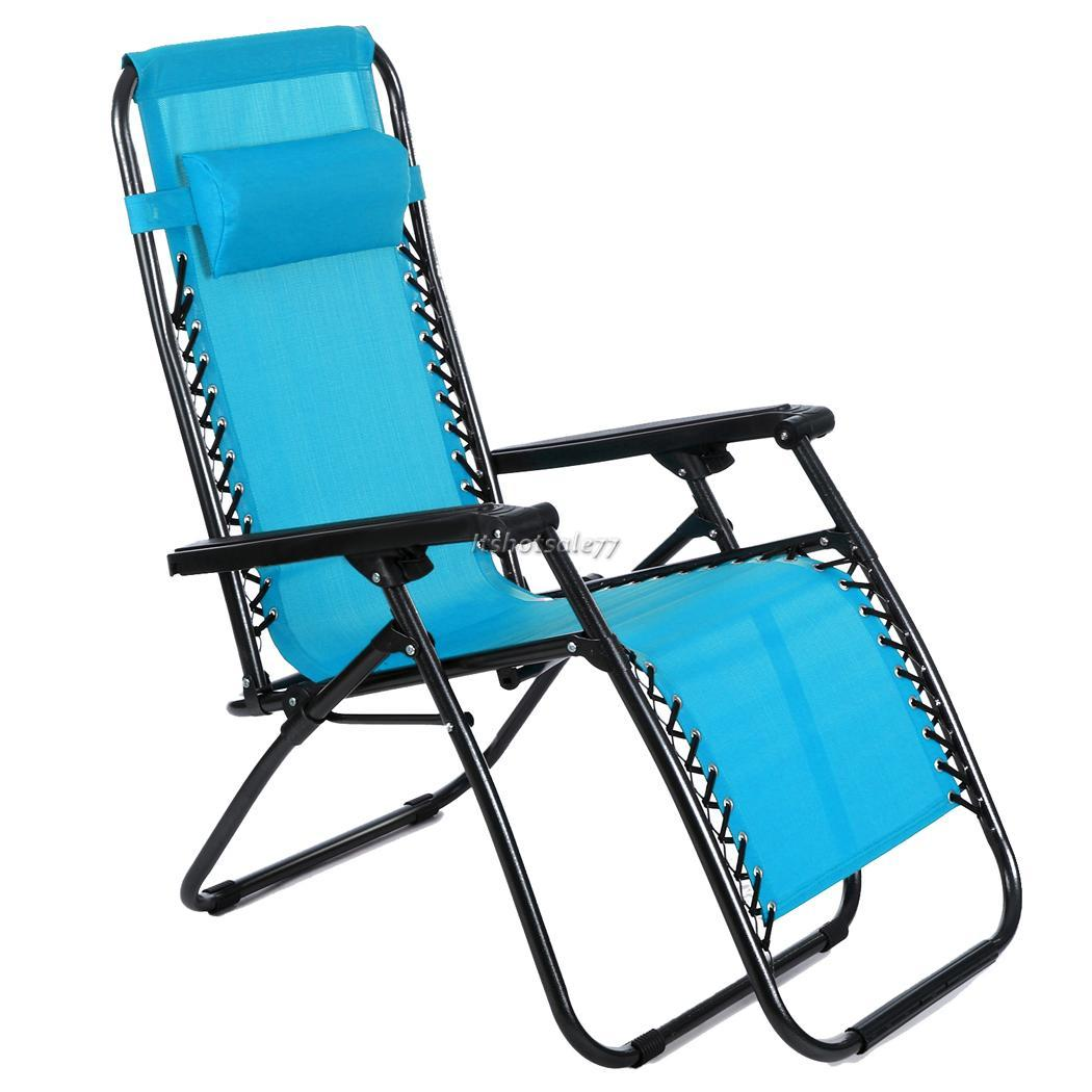 Hot Folding Reclining Lounge Portable Garden Beach Camping Outdoor Chair