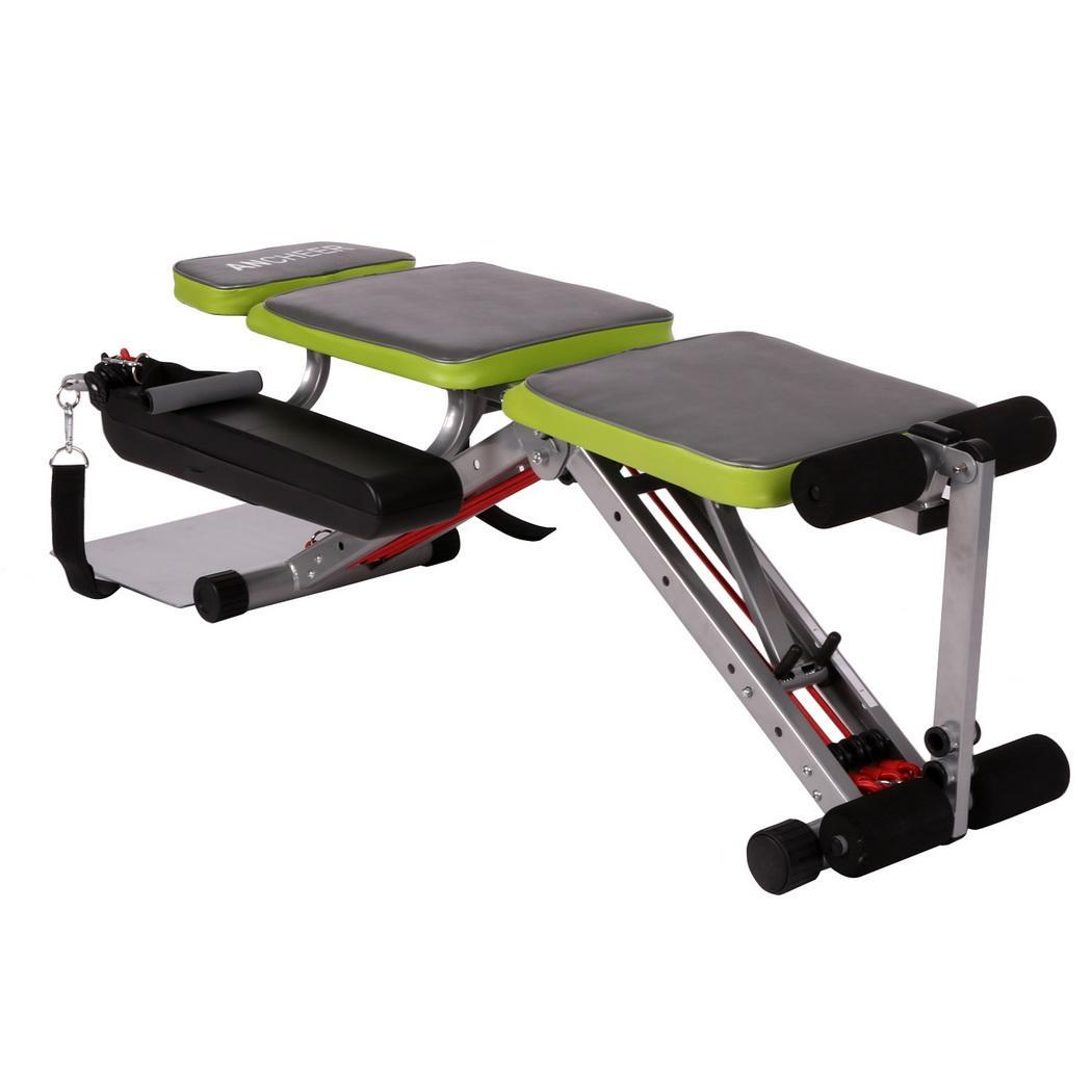 Ab Weight Folding Bench Gym Fitness Home Exercise Workout