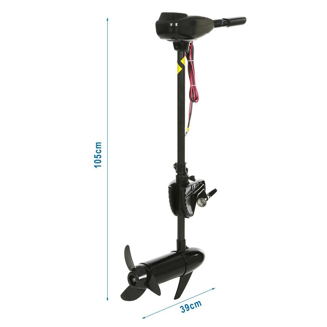 Electric Outboard Trolling Motor 12v 55lb Max Thrust For