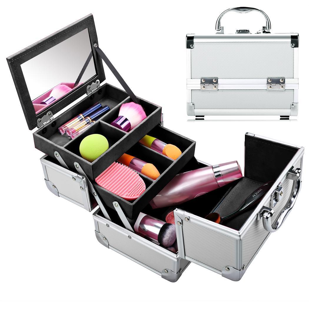Makeup organizer case
