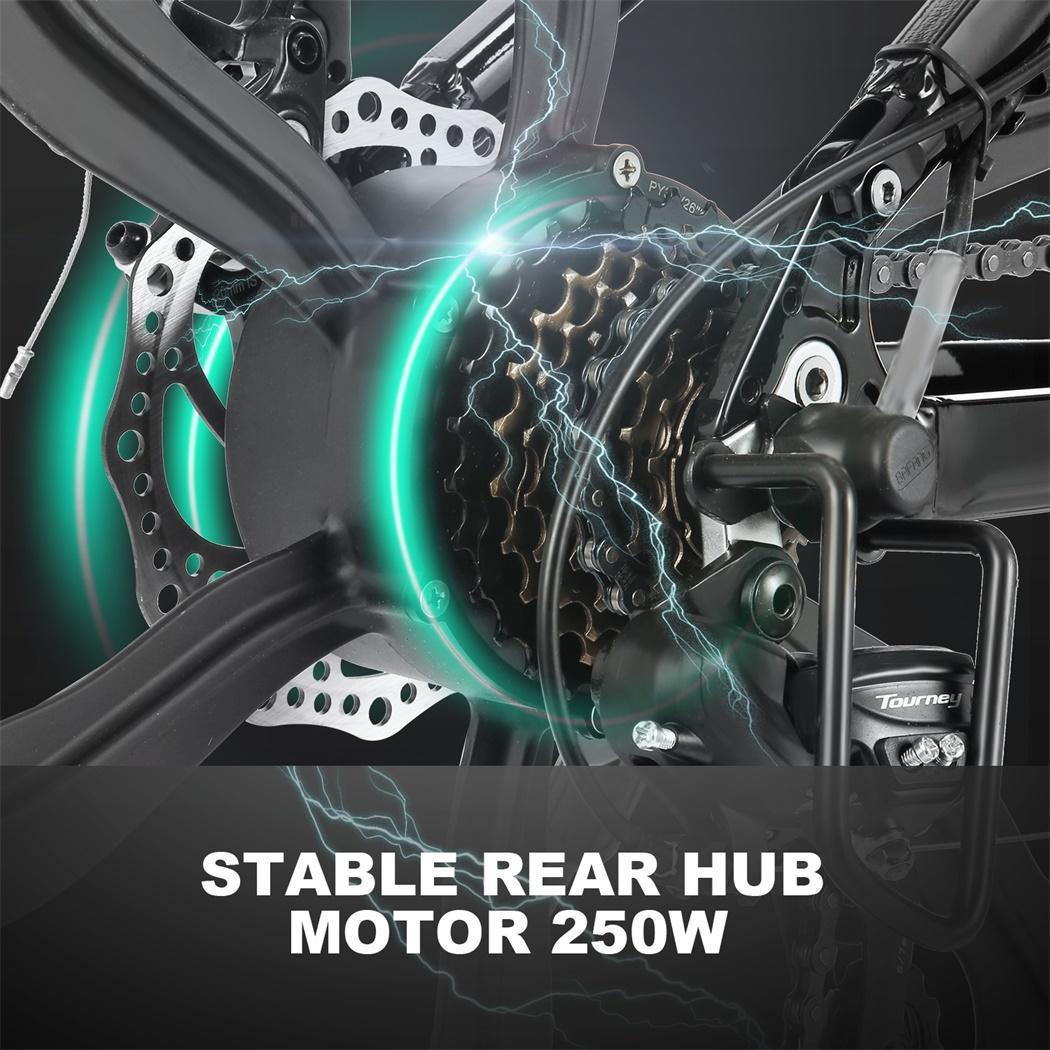 500 watt 36v mens 26 mountain bike fat tire electric bike. Black Bedroom Furniture Sets. Home Design Ideas