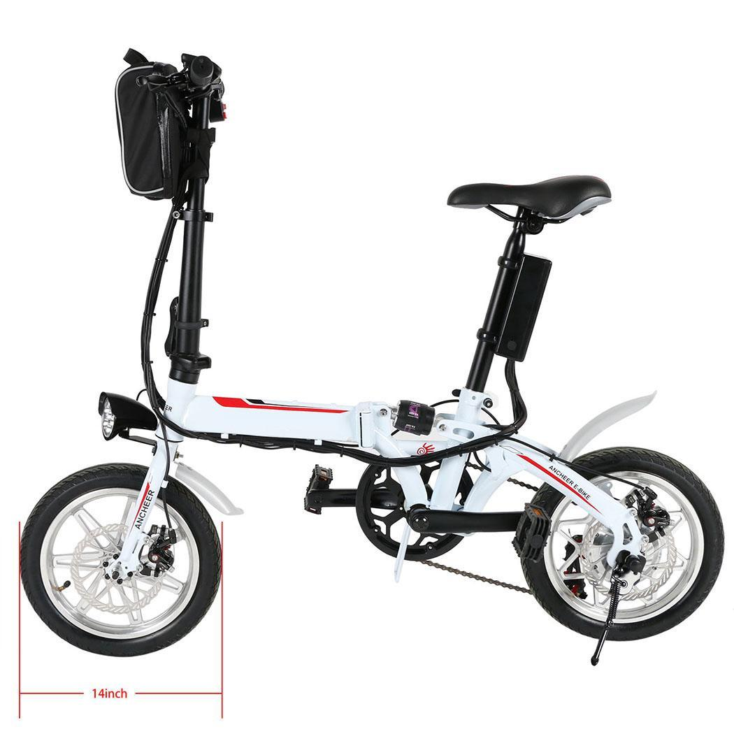 14 foldable electric bike 36v electric bicycle ebike. Black Bedroom Furniture Sets. Home Design Ideas