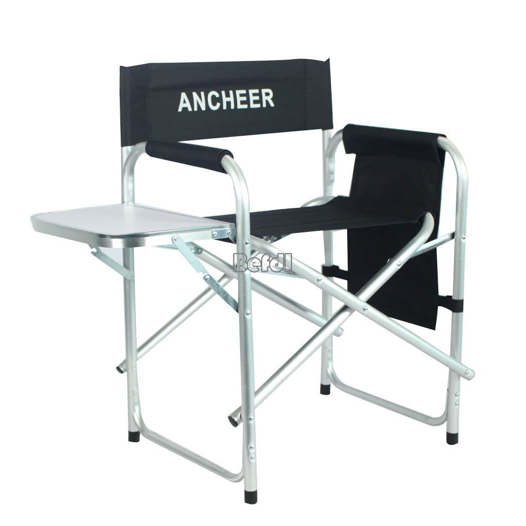 Aluminum frame Portable Folding Artist Directors Chair w