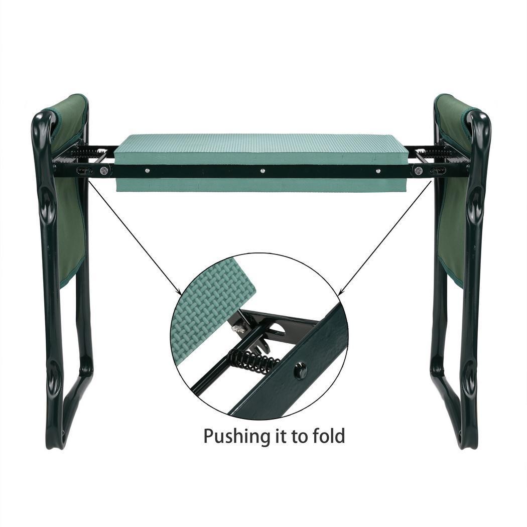Folding Home Garden Seat Kneeler Kneeling Pad Rest Lawn