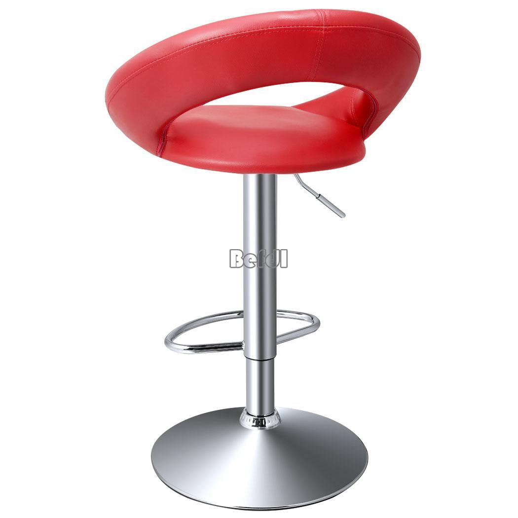 2 x synthetic leather bar stool breakfast swivel bar for 360 the colour bar salon