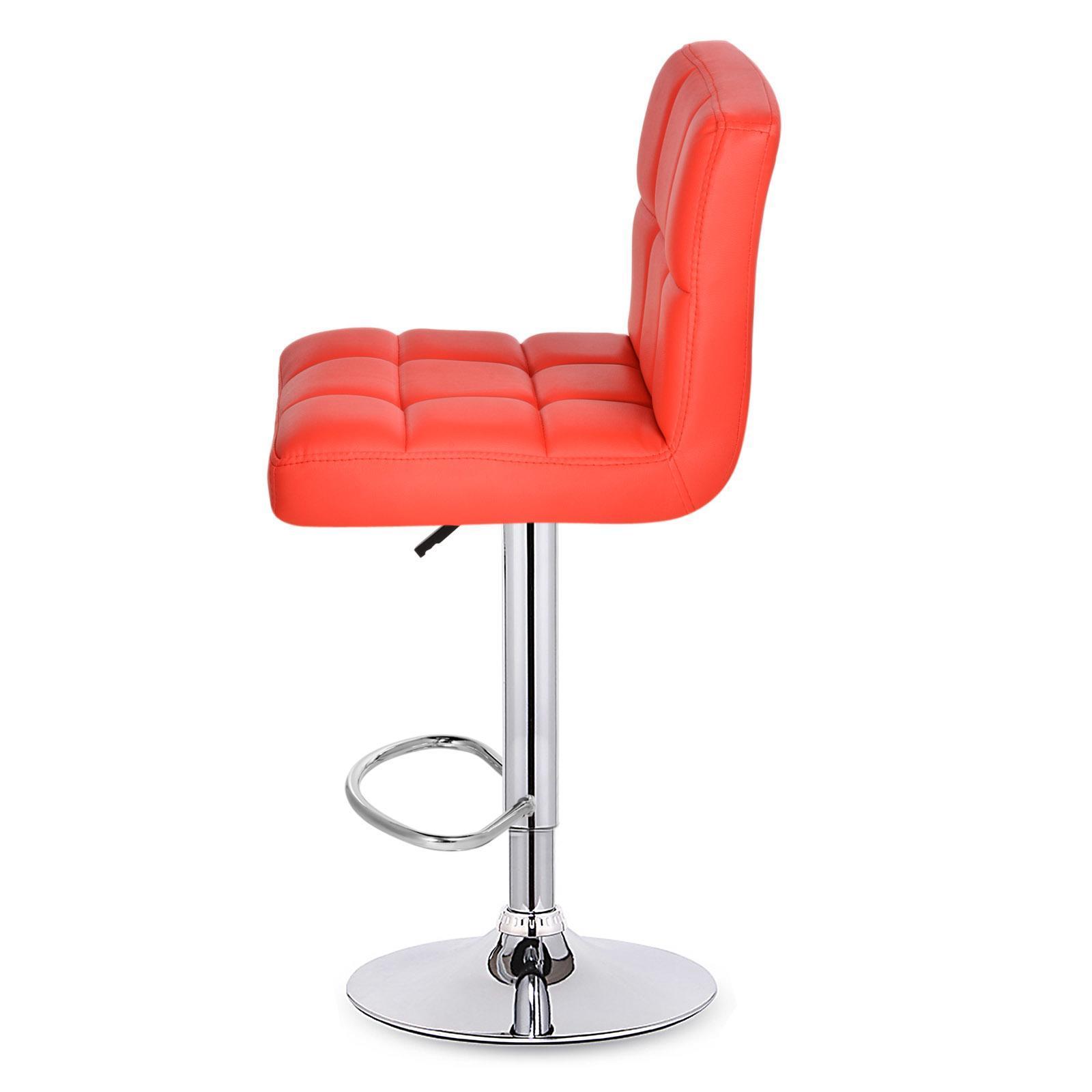2 x cuir synth tique tabouret de bar pivot barre pu bureau petit d jeuner ebay. Black Bedroom Furniture Sets. Home Design Ideas