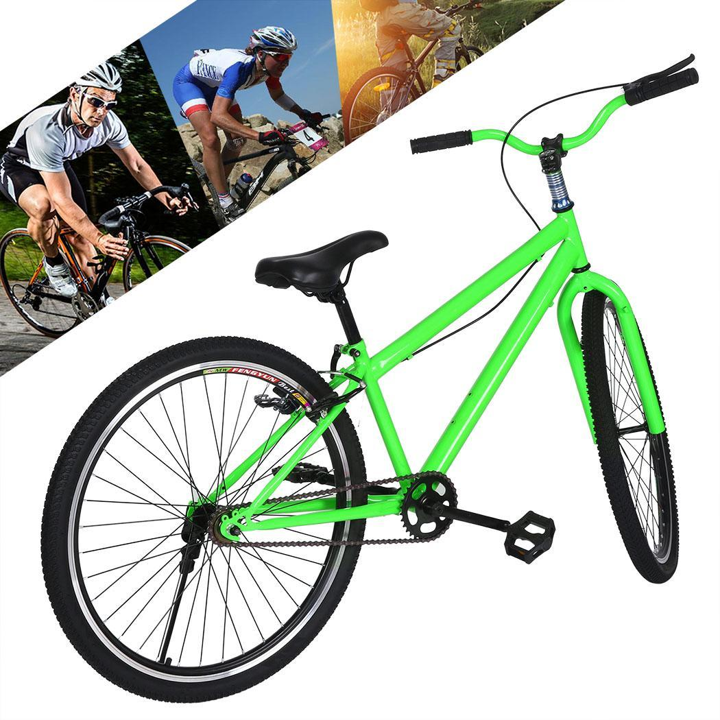 ancheer 25 4 mens dirt jumping bicycle single speed. Black Bedroom Furniture Sets. Home Design Ideas