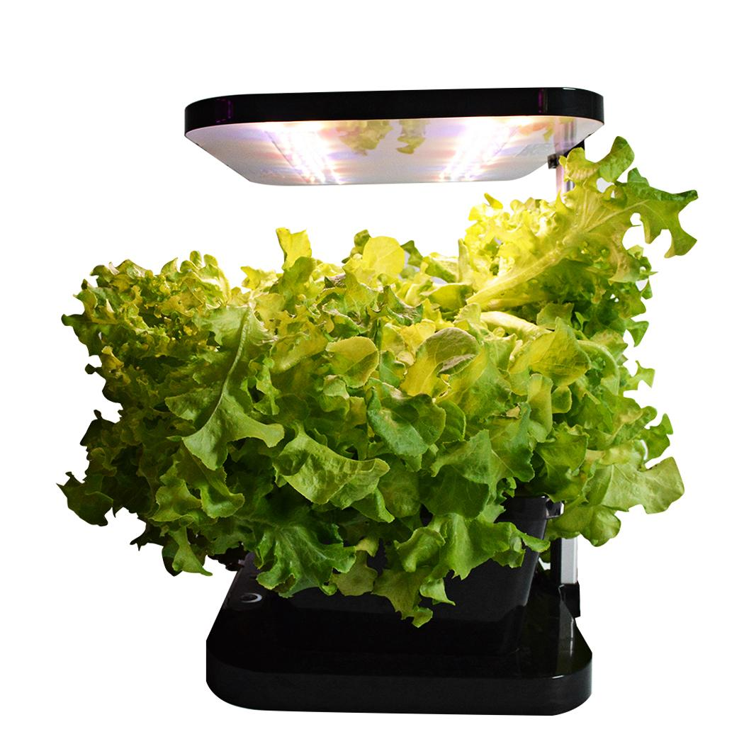 full automatic hydroponics growing system herb indoor planter w led grow light ebay. Black Bedroom Furniture Sets. Home Design Ideas