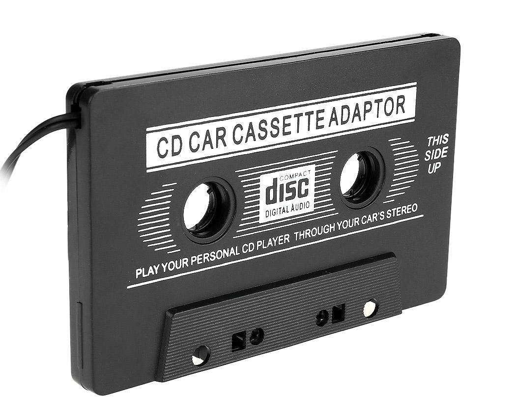 car cassette tape aux audio adapter cd ipod iphone player. Black Bedroom Furniture Sets. Home Design Ideas
