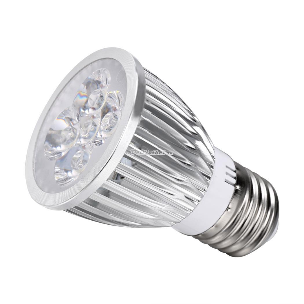12w e27 led lampen strahler licht hochleistung warmes wei k hl birnen silber. Black Bedroom Furniture Sets. Home Design Ideas