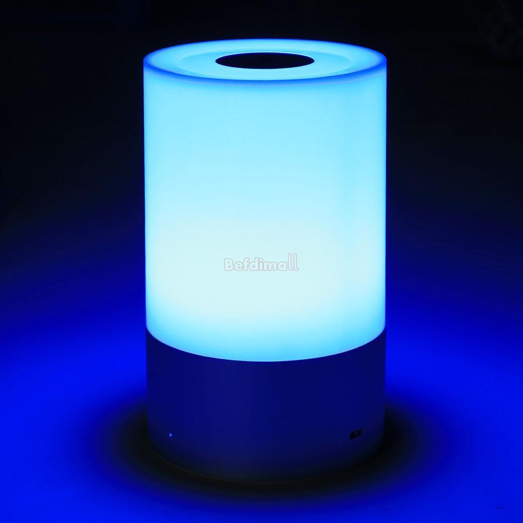 neu elegant dimmbar lampe touch control rgb farbe aufladbarer led tisch licht ebay. Black Bedroom Furniture Sets. Home Design Ideas