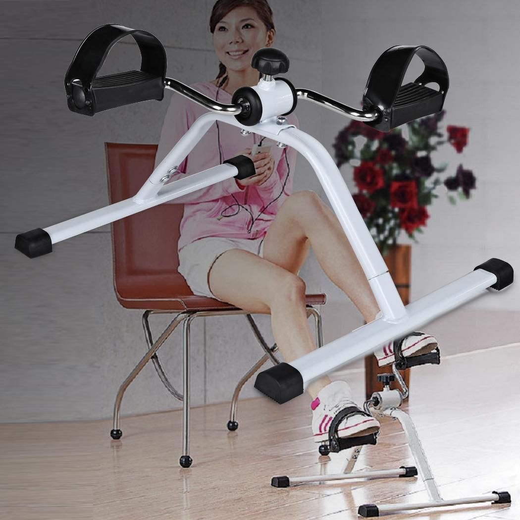 Exercise Bike Next Day Delivery: Portable Gym Fitness Workout Hand Foot Pedal Mini Exercise