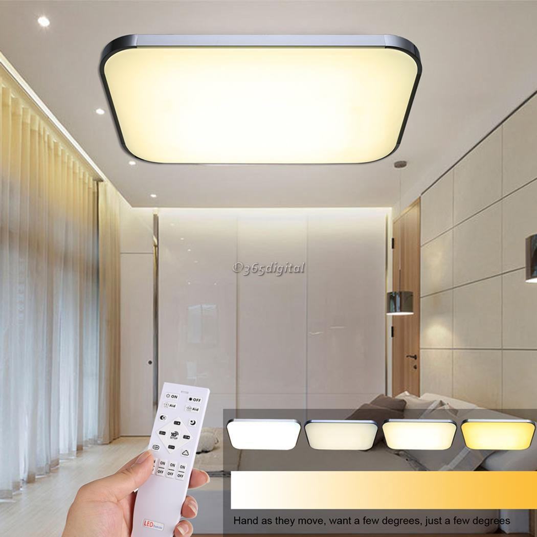 Wireless Remote Control Dimmable 36W LED Ceiling Light