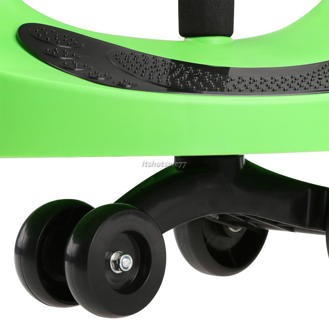 5 Wheels Swing Ride On Swivel Plastic Scooter Gift For