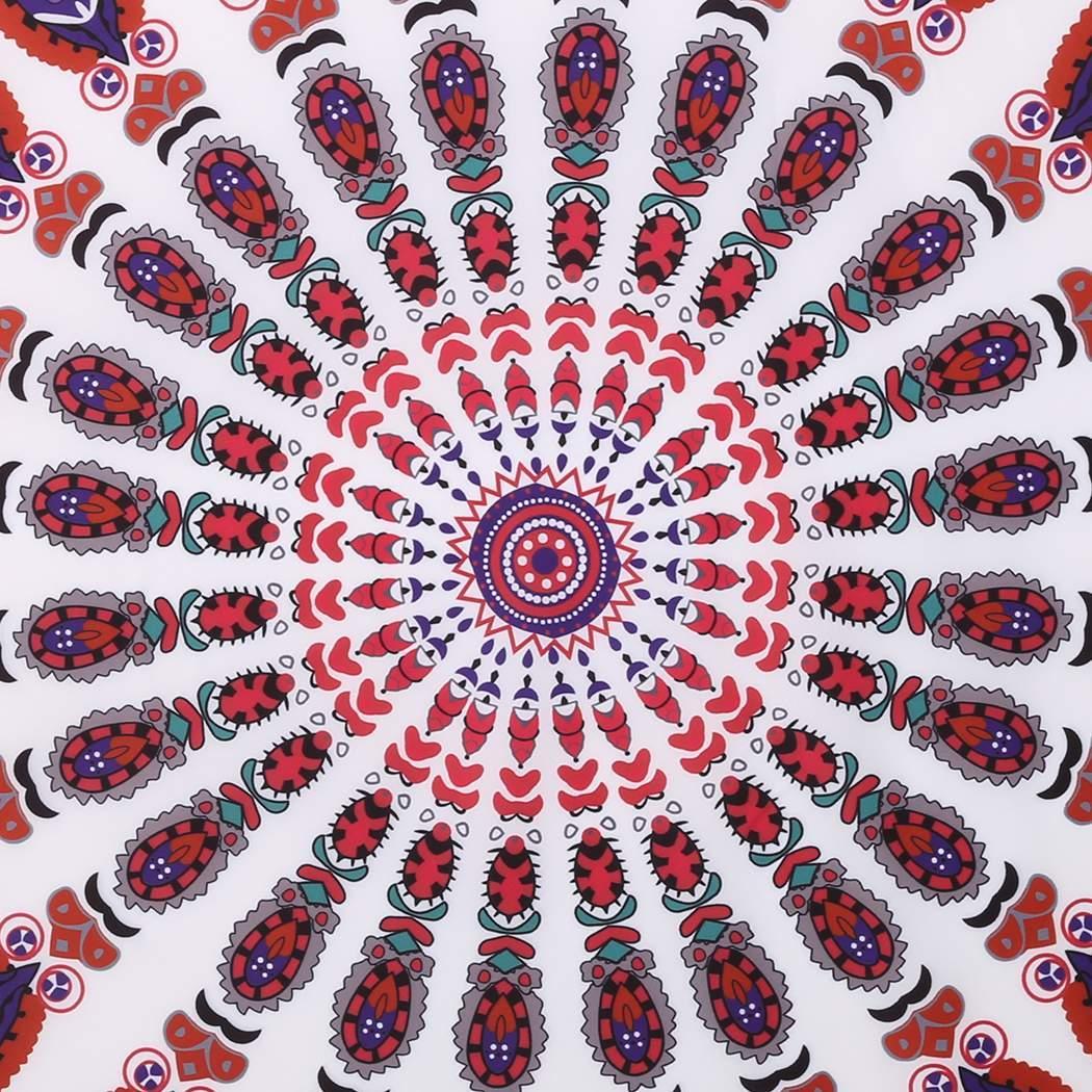 Indian Vintage Ronde Mandala Tapisserie Hippie Tapis De Plage Serviette Ebay