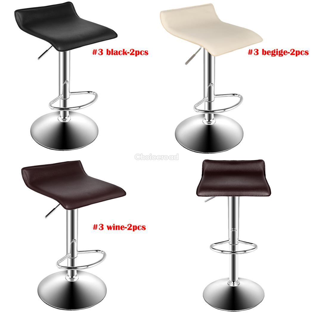 2pcs homdox bar stool adjustable kitchen modern furniture