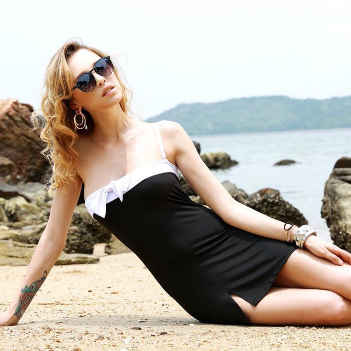 Donne donna sexy abbigliamento da spiaggia costume da bagno bikini copricostume ebay - Costume da bagno traduzione ...