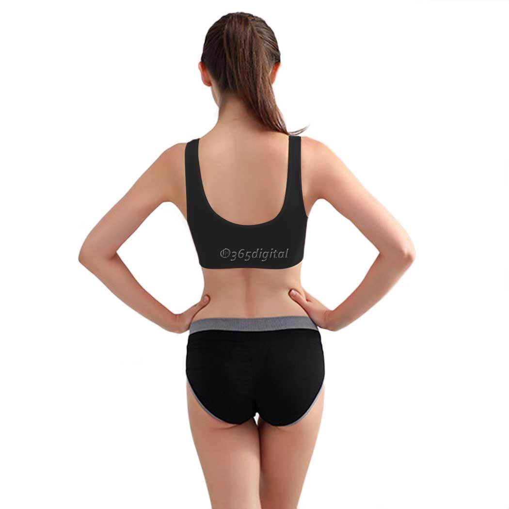New Seamless Yoga Sports Bra Crop Top Vest Comfort Stretch