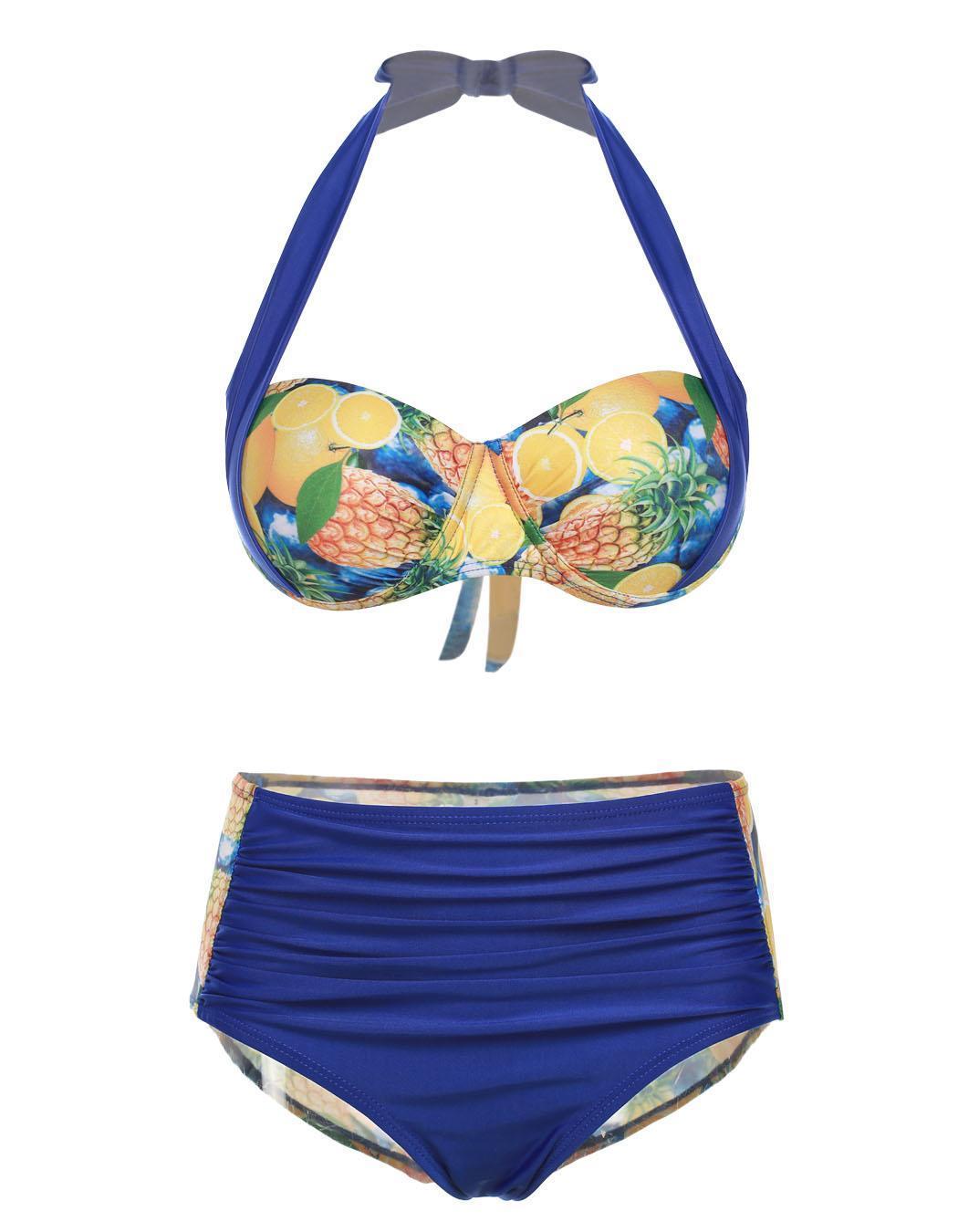 Donne sexy push up set bikini costume da bagno brasiliano - Donne grasse in costume da bagno ...