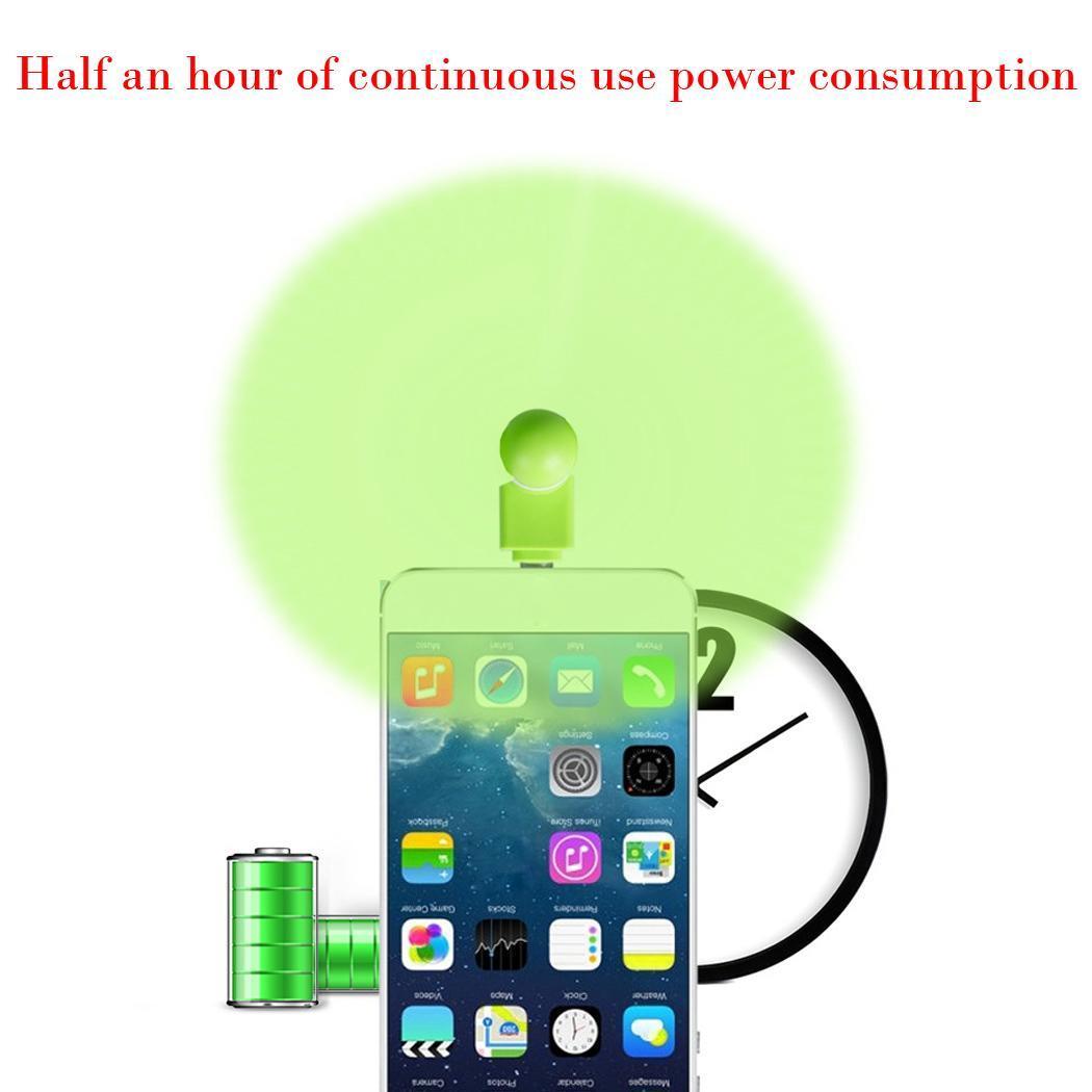 Portatile telefono cellulare mini elettrico ventola for Ventilatore refrigerante