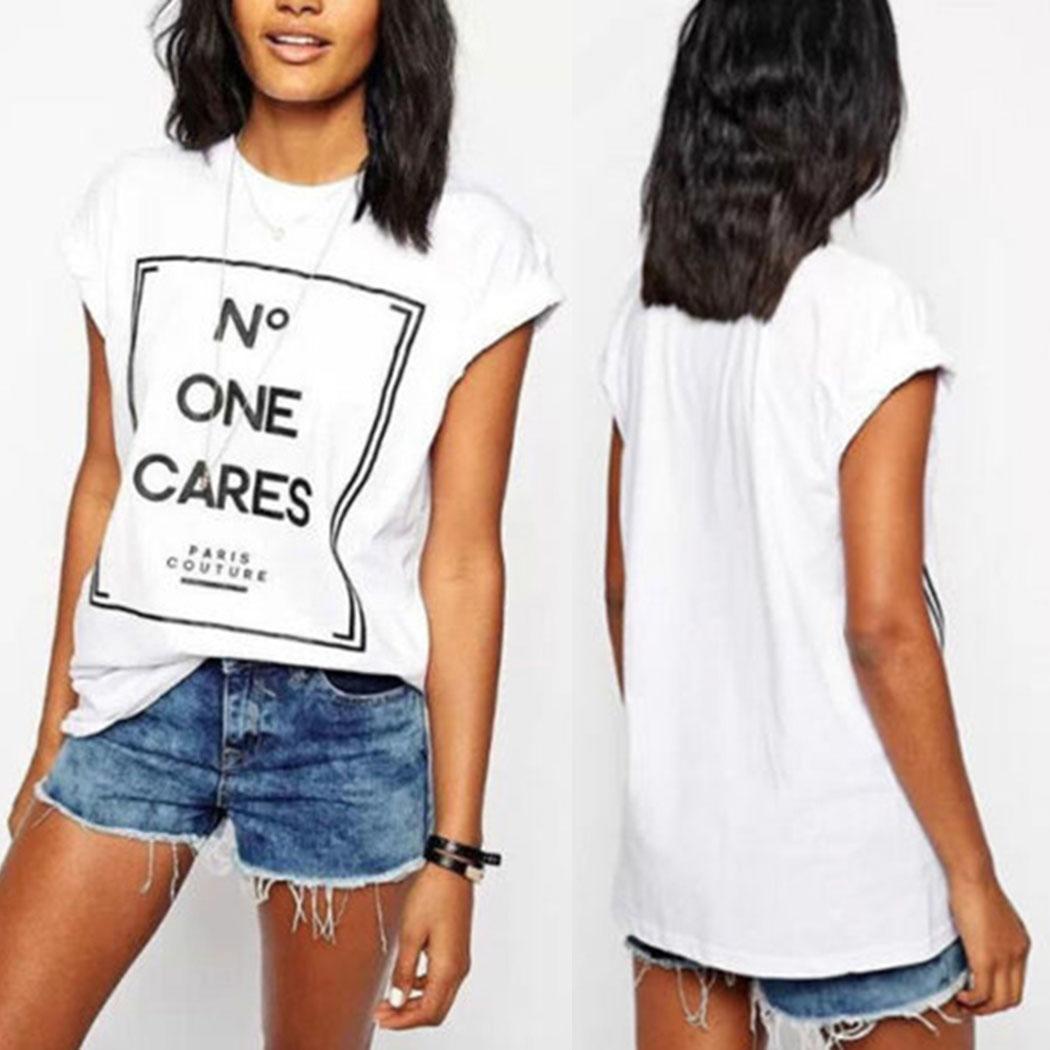 mode damen sommer brief tops lose t short sleeve t shirt. Black Bedroom Furniture Sets. Home Design Ideas