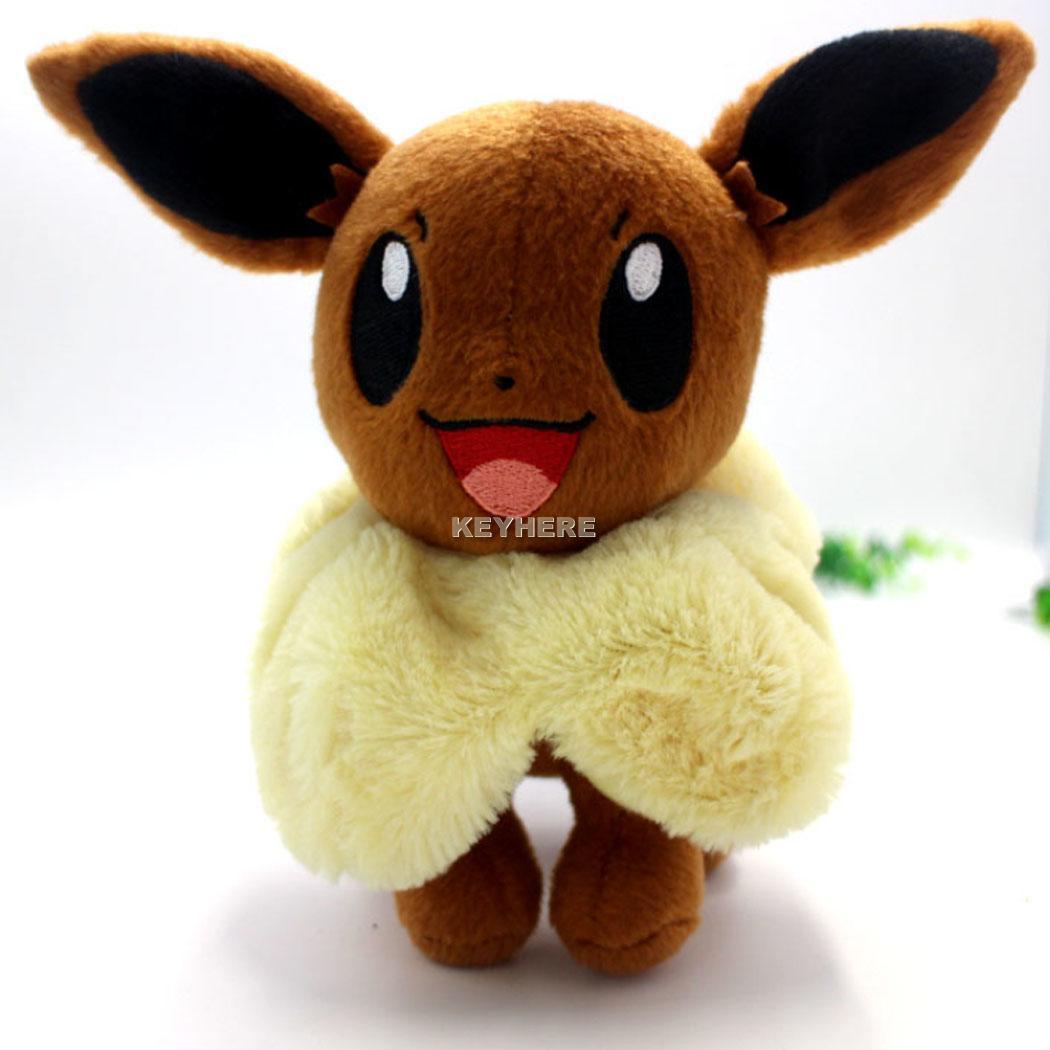 Soft Toys With Pockets : Beautiful pokemon pocket toy eevee plush toys soft stuffed