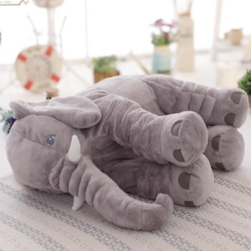 Baby Sleep Pillow Plush Soft Elephant Large Stuffed Animal Doll Kids Toys NEW eBay