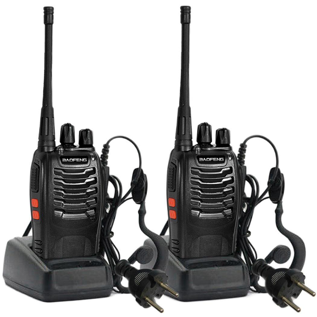 2pcs talkie walkie radio bidirectionnelle uhf400 470mhz 16ch longue port e ebay. Black Bedroom Furniture Sets. Home Design Ideas