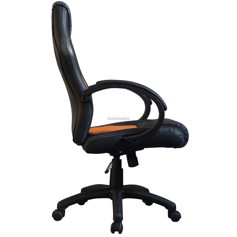 De lujo deportes carreras silla para jugar reclinable for Sillas para jugar ps4