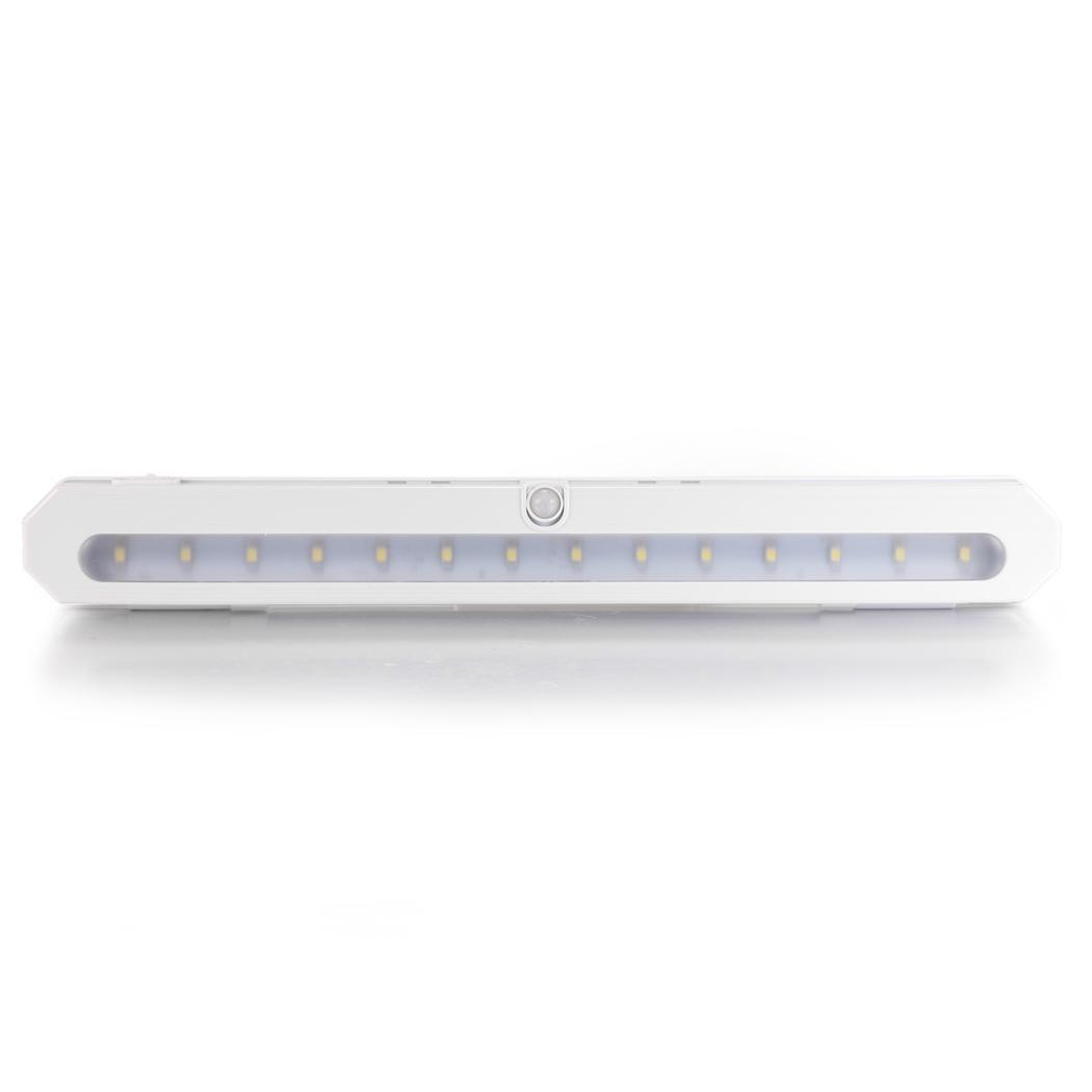14 led battery pir motion sensor night light closet. Black Bedroom Furniture Sets. Home Design Ideas