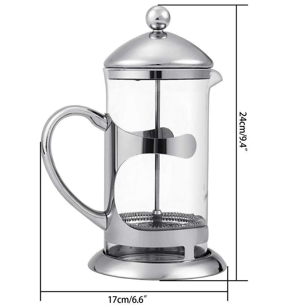 Coffee Maker Vs Kettle : HOMDOX French Press Coffee Espresso Maker 1000ML Stainless Steel kettle with Plunger Lid 2pcs ...