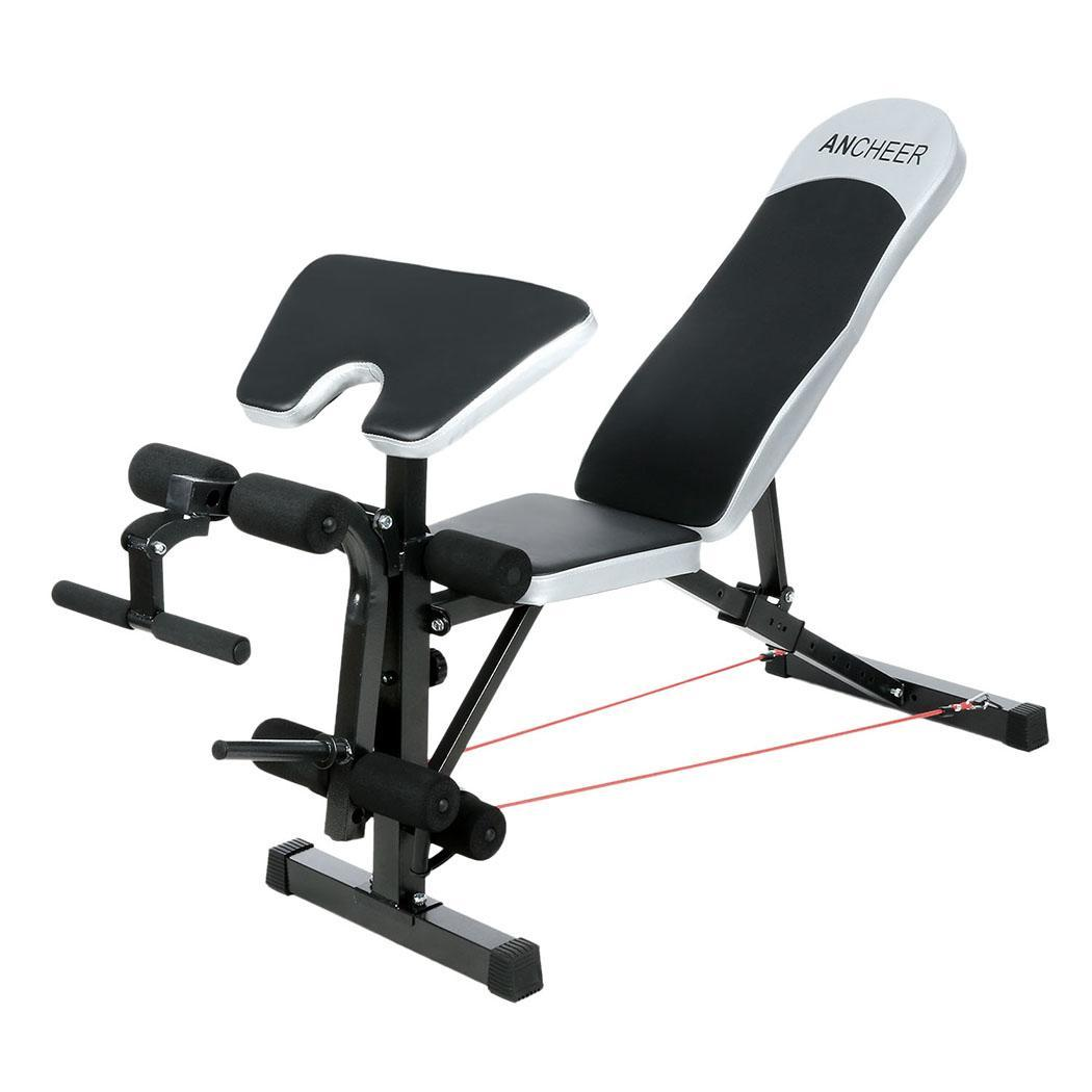Olympic Weight Bench Set Press Fitness Home Gym Workout Strength Training Ebay
