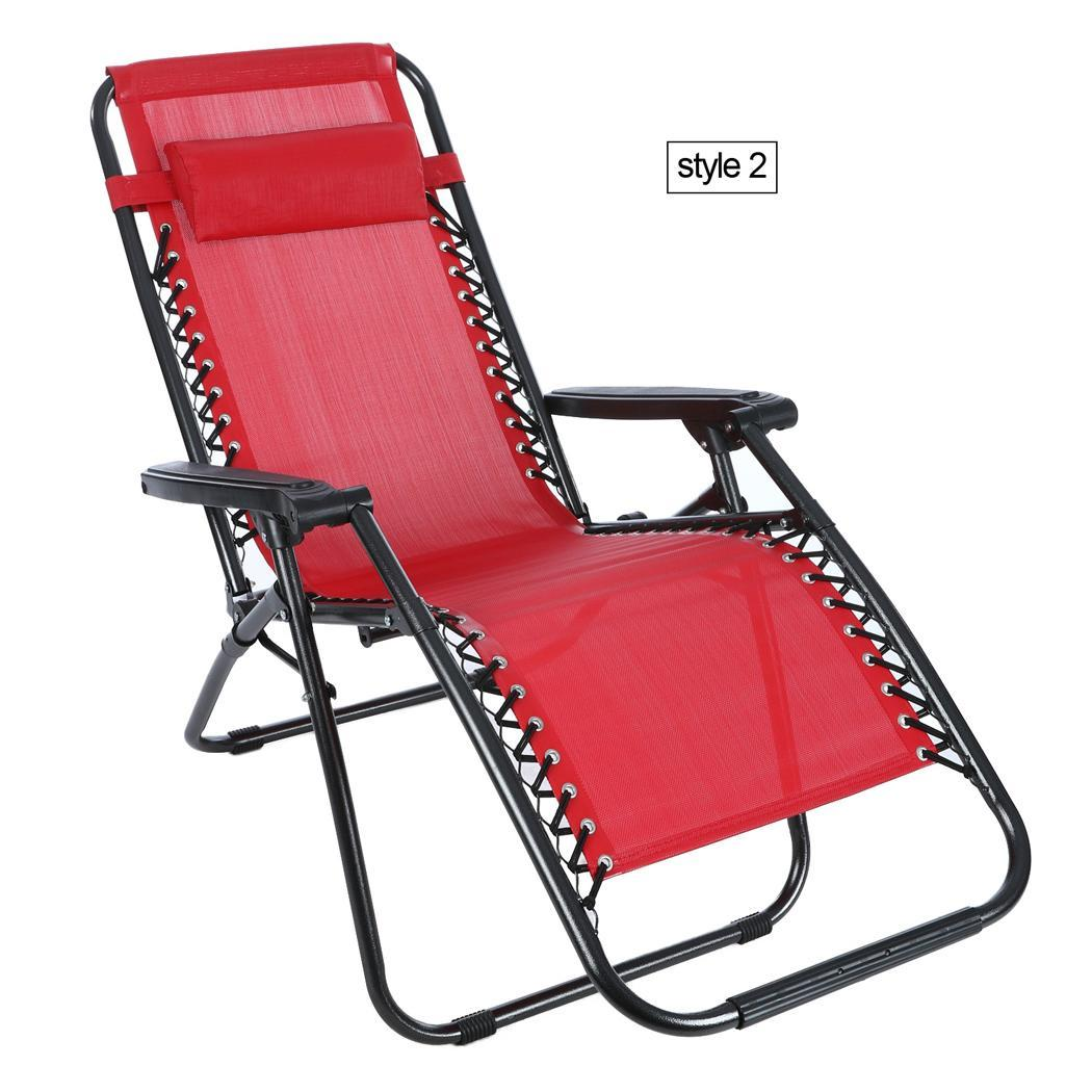 heavy duty zero gravity folding lawn patio lounge chair outdoor recliner 69 39 39 us ebay. Black Bedroom Furniture Sets. Home Design Ideas