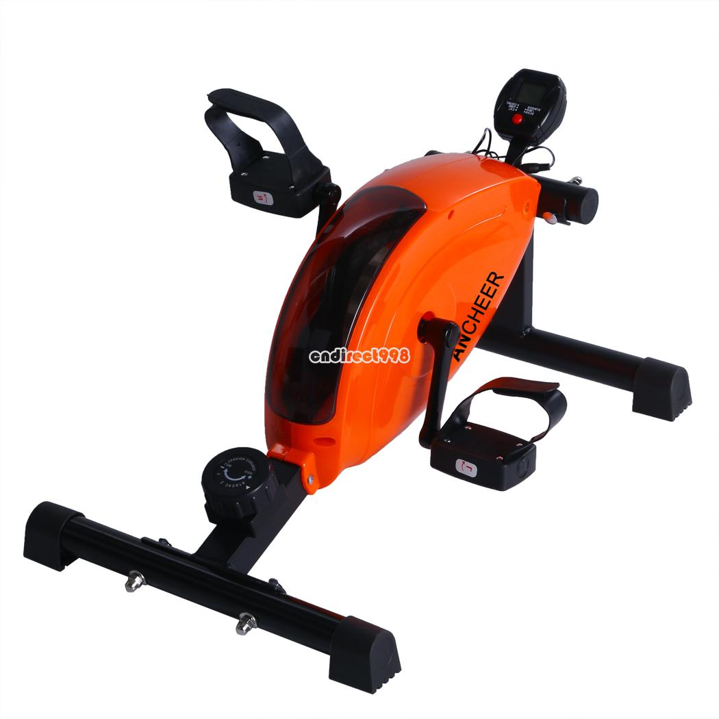 ancheer mini fitness exercise bike with control pedal. Black Bedroom Furniture Sets. Home Design Ideas
