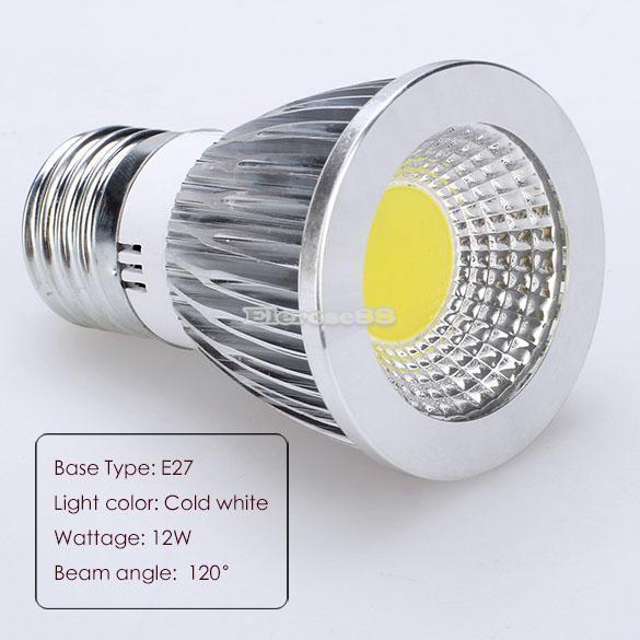 led e27 reflektor birnen 12w strahler licht lampe 85 265v. Black Bedroom Furniture Sets. Home Design Ideas