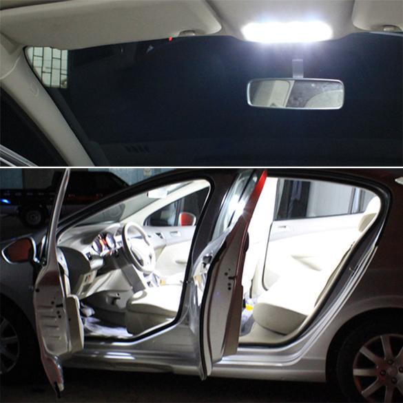 cyber car dome light universal car roof festoon dome light car interior lights lazada malaysia. Black Bedroom Furniture Sets. Home Design Ideas