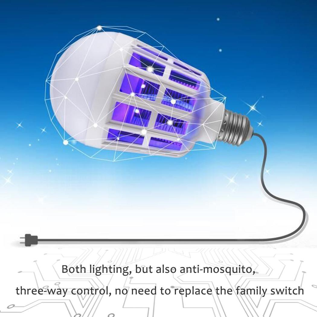 New Home Electronic Insect LED Anti Mosquito Bulb Mosquito