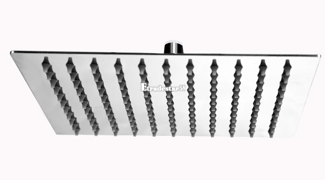 Kopfbrause regendusche regenbrause brausekopf duschkopf edelstahl duscharmatur - Quadratische edelstahl designer duschkopf ...