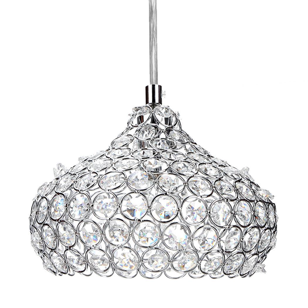 Mini Crystal Single Wine Glasses Chandelier Ceiling Lights