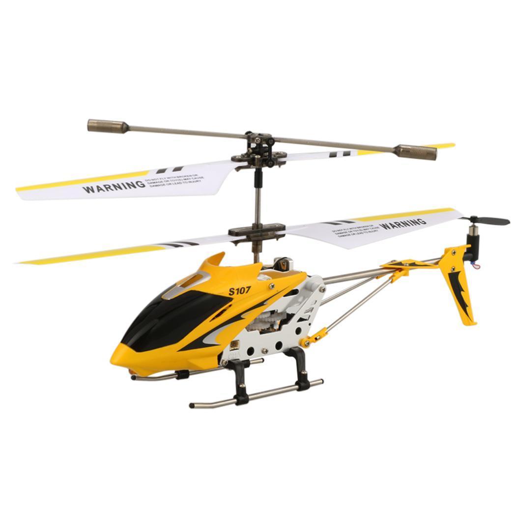 Elicottero In Inglese : Syma s g canali ch mini remote controllo elicottero