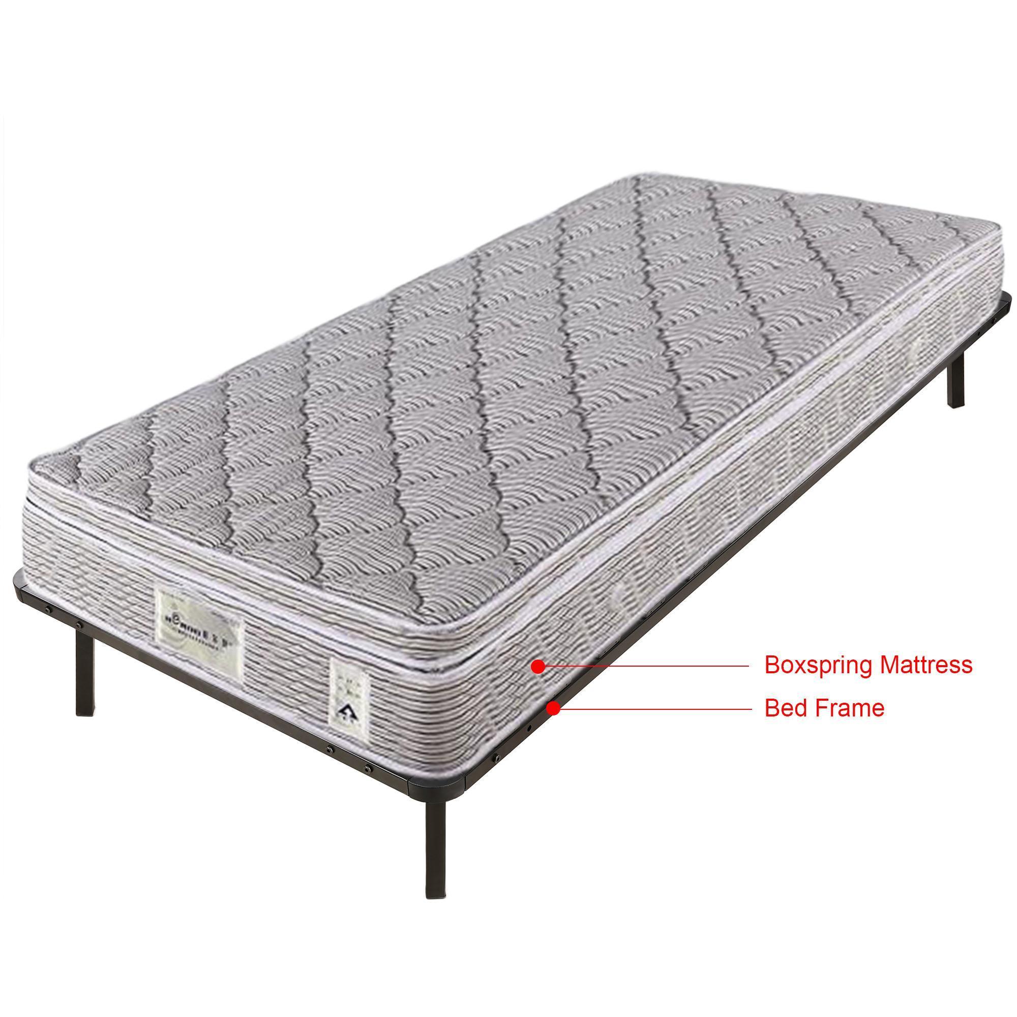 homdox lit bois lattes de sommier m tallique meubles de chambre coucher twin extra long. Black Bedroom Furniture Sets. Home Design Ideas