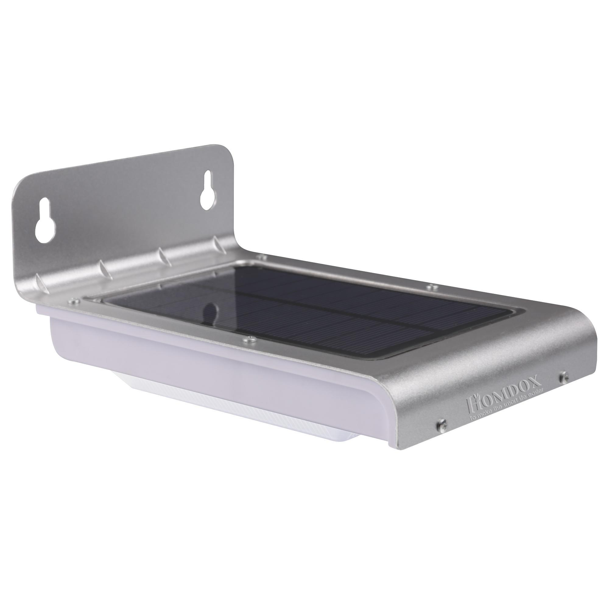 homdox led solaire lampe wall light avec d tecteur de mouvement achat vente homdox led. Black Bedroom Furniture Sets. Home Design Ideas