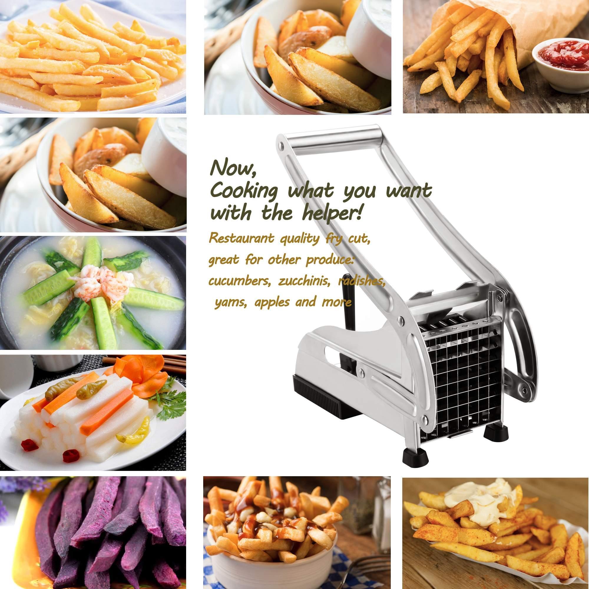 Produit de cuisine machines de coupe de pomme de terre frites dispositif de coupe de pommes de - Coupe pomme de terre pour frite ...