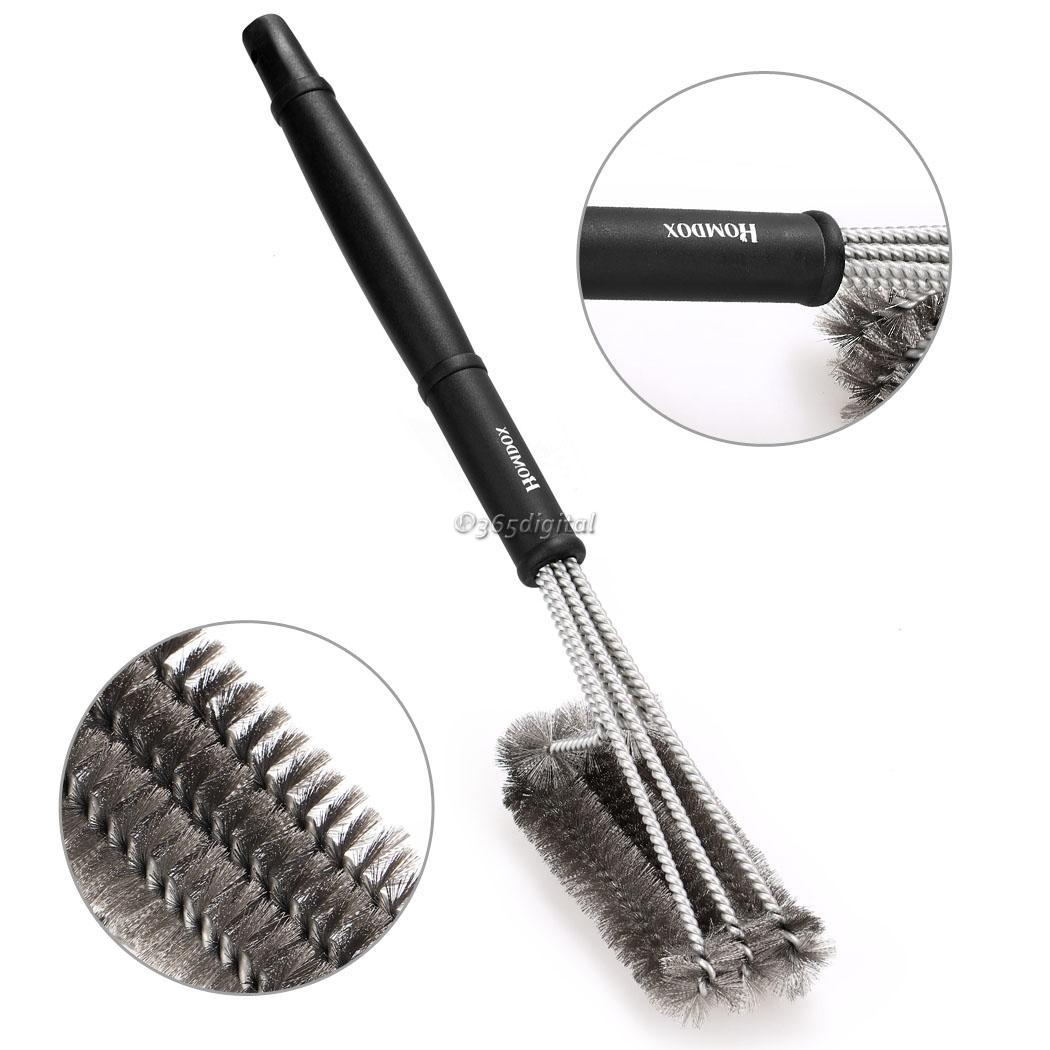 Pro Heavy Duty Stainless Steel 18inch Bbq Grill Brush Bbq Cleaning Tool 35di Ebay