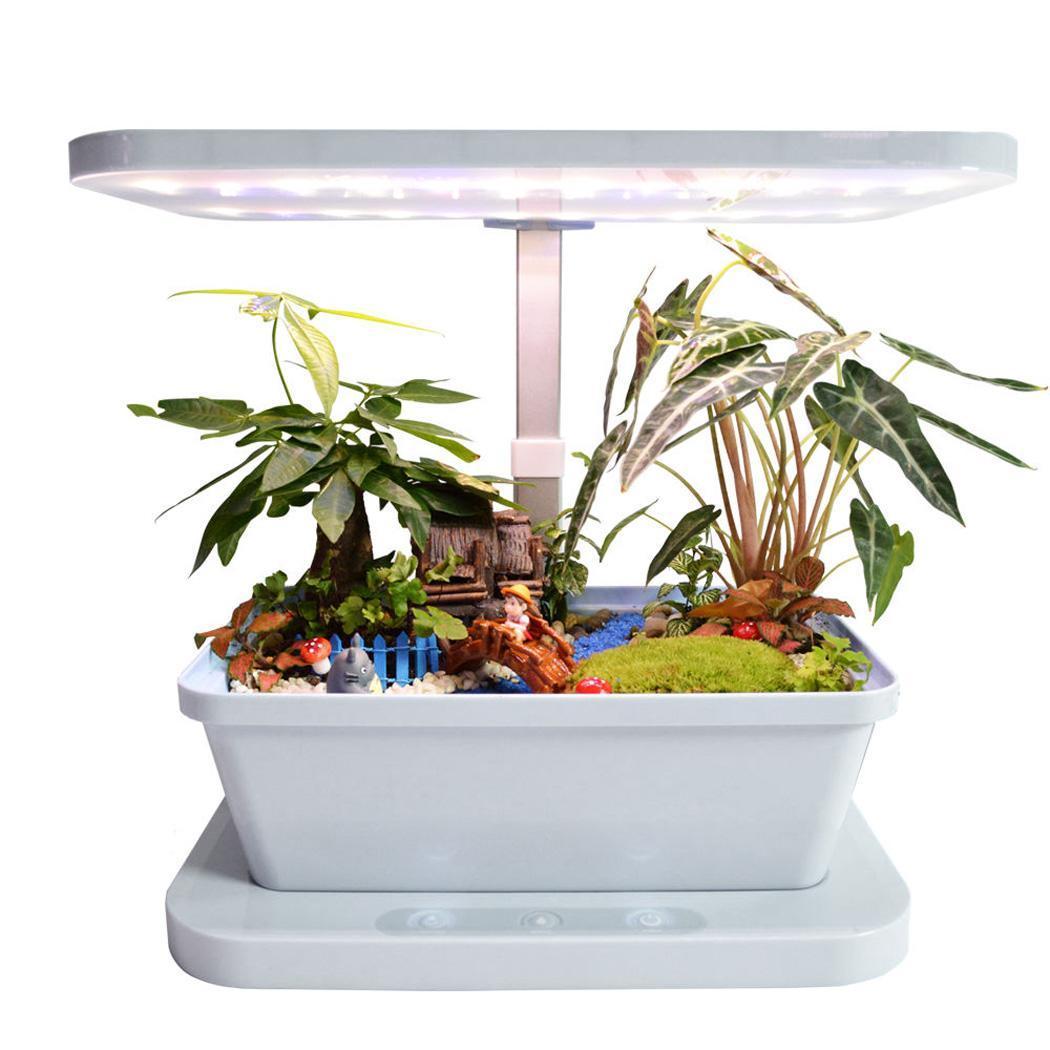 Indoor gardening kit smart hydroponics plant growing for Indoor gardening lighting guide