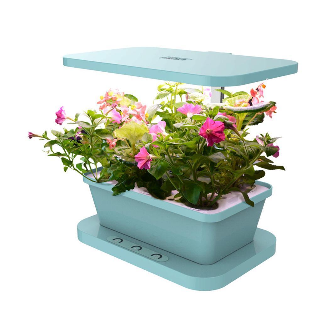 New Smart Indoor Herb Garden Kit Hydro Plant Growing