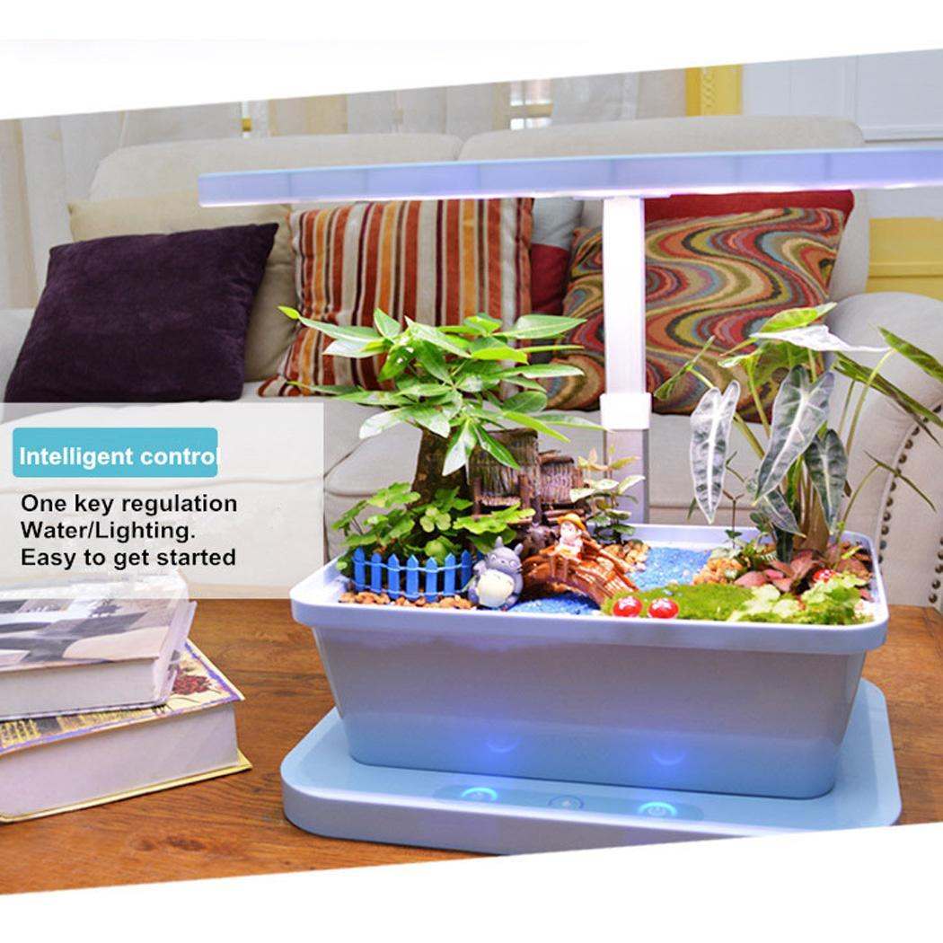 New Smart Indoor Herb Garden Kit Hydro Plant Growing