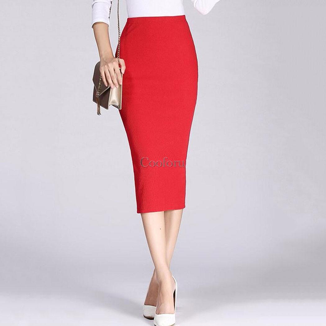 Модные классические юбки карандаш