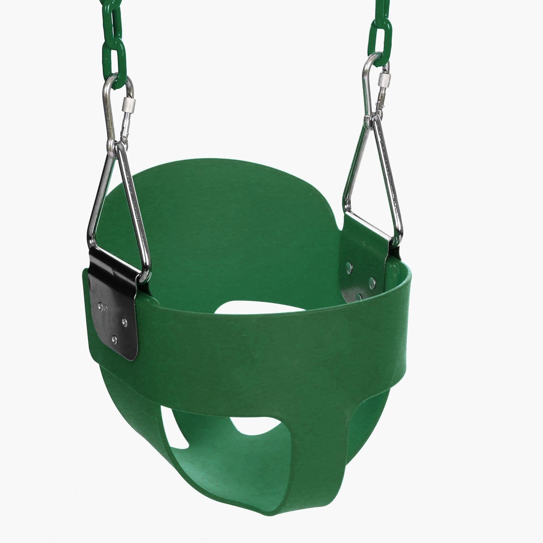 58 Swing Set Slide Playground Park Children Baby Full Bucket Seat