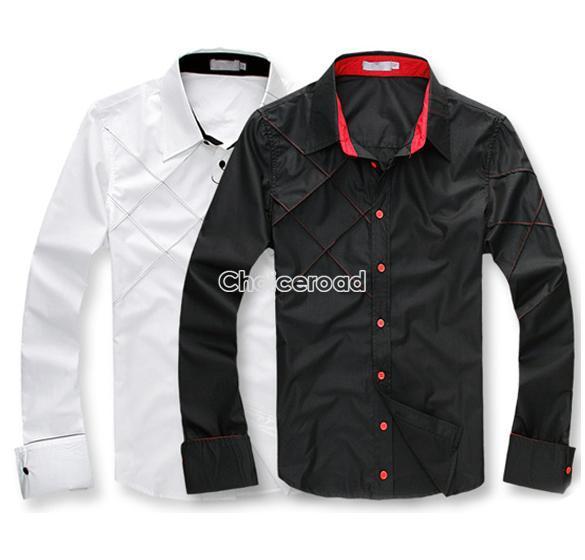 New Hot Mens Gents Formal Casual Sexy Slim Fit Long Sleeve Top Coat Jacket C99D